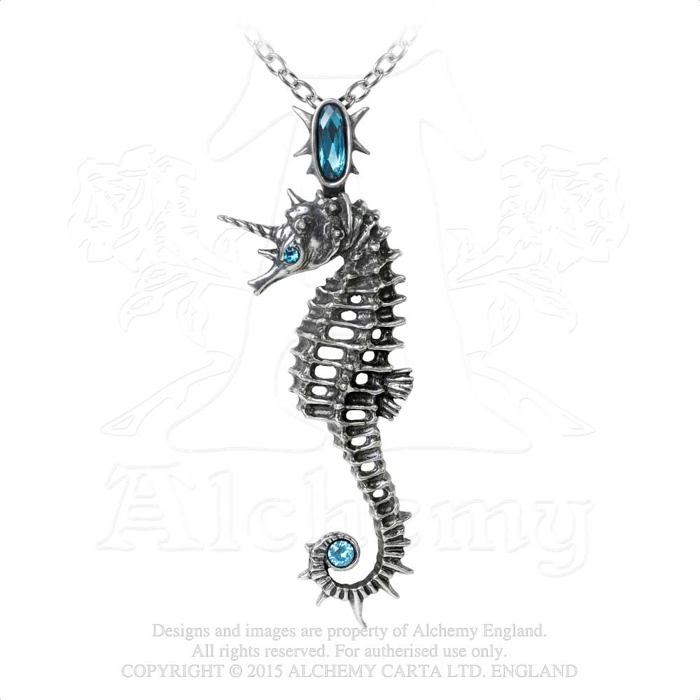 Alchemy Gothic Aequicorn Pendant from Gothic Spirit