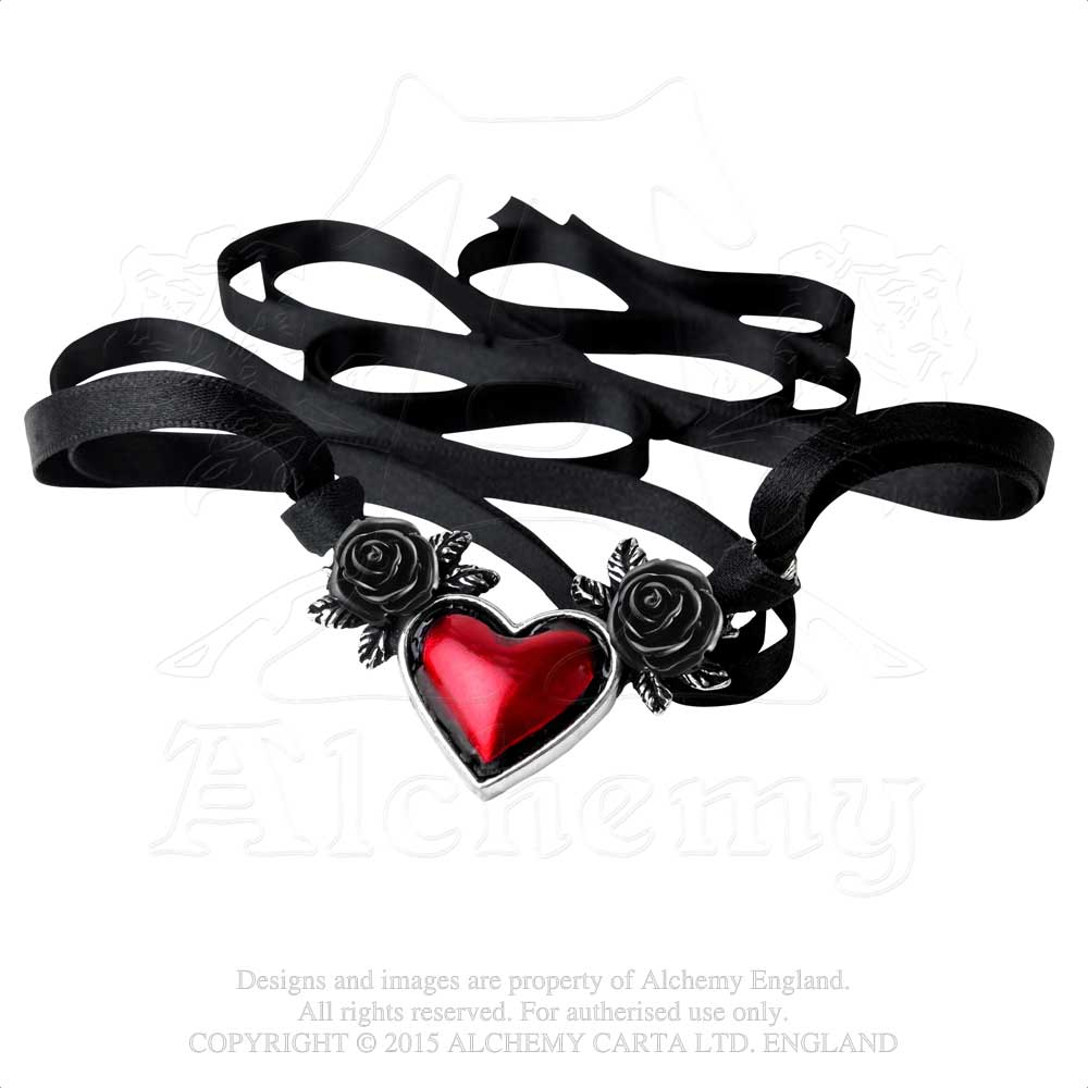 Alchemy Gothic Blood Heart Pendant from Gothic Spirit