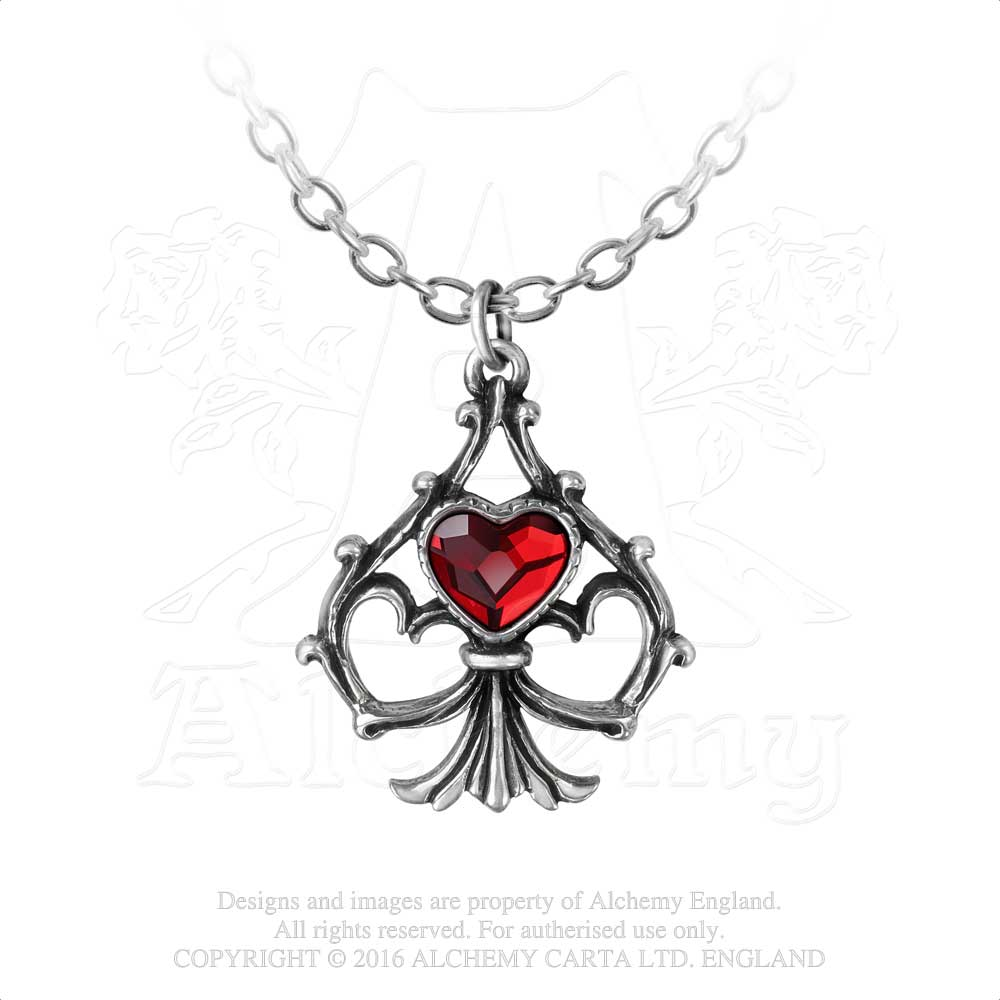 Alchemy Gothic Lucky In Love Pendant - Gothic Spirit