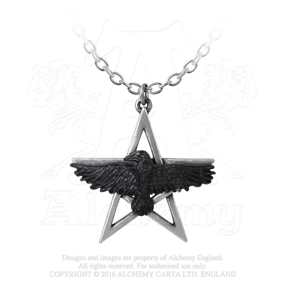 Alchemy Gothic Ghost-seer Pendant from Gothic Spirit