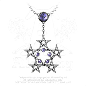 Alchemy Gothic PentaGramatron Necklace from Gothic Spirit