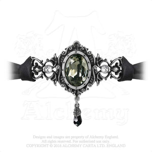Alchemy Gothic The St. Petersburg Tear Choker from Gothic Spirit