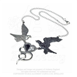 Alchemy Gothic Epiphany Of St. Corvus Necklace - Gothic Spirit