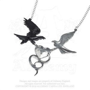Alchemy Gothic Epiphany Of St. Corvus Necklace from Gothic Spirit