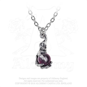 Alchemy Gothic Clutching Life Pendant from Gothic Spirit