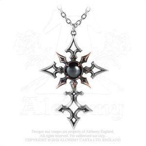 Alchemy Gothic ChaoCrucis Pendant from Gothic Spirit