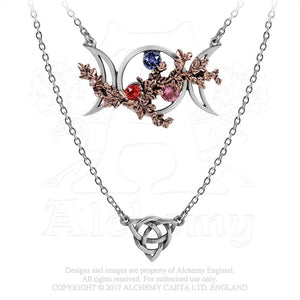 Alchemy Gothic Wiccan Goddess Of Love Necklace - Gothic Spirit