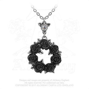 Alchemy Gothic Ring 'O Roses Pendant from Gothic Spirit