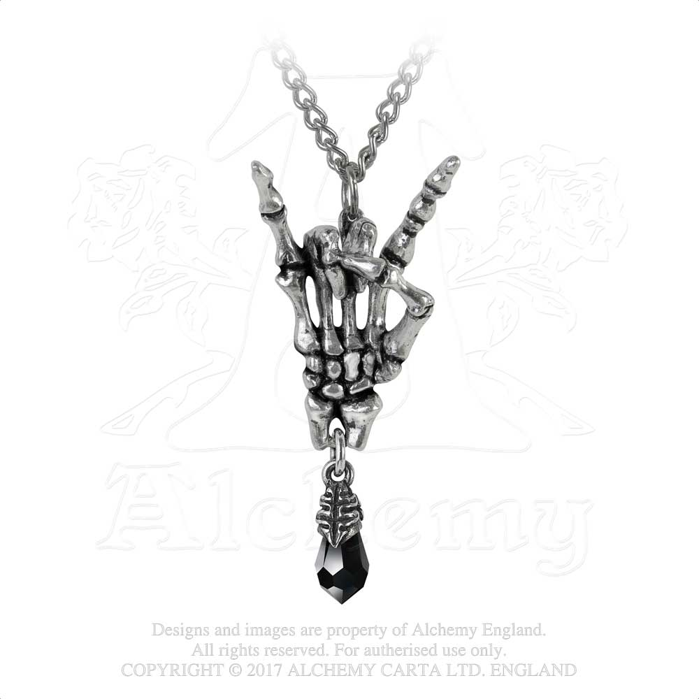 Alchemy Gothic Maloik: Sign Of The Horns: Femmina Pendant - Gothic Spirit