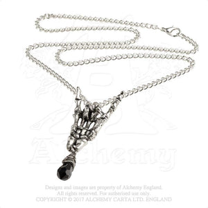 Alchemy Gothic Maloik: Sign Of The Horns: Femmina Pendant from Gothic Spirit