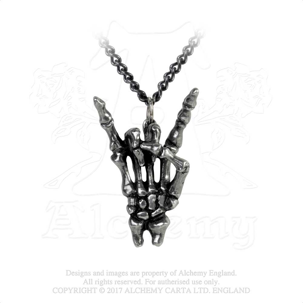 Alchemy Gothic Maloik: Sign Of The Horns: Maschio Pendant from Gothic Spirit