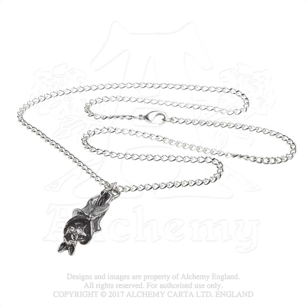 Alchemy Gothic Awaiting The Eventide Pendant from Gothic Spirit