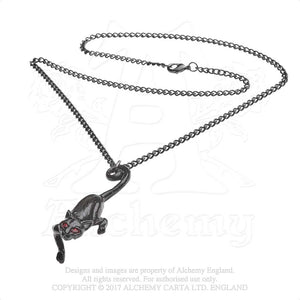 Alchemy Gothic Cat Sith Pendant from Gothic Spirit