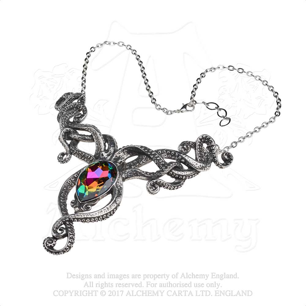 Alchemy Gothic Kraken Necklace - Gothic Spirit