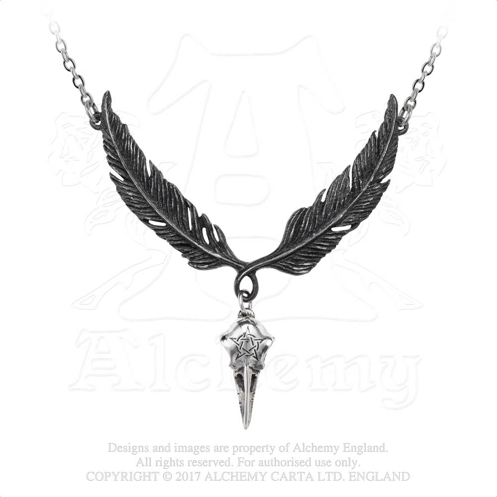 Alchemy Gothic Incrowtation Pendant from Gothic Spirit