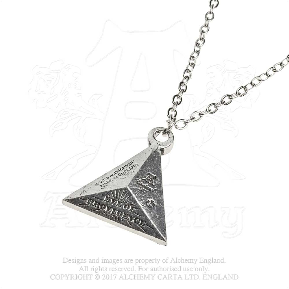 Alchemy Gothic Eye of Providence Pendant from Gothic Spirit