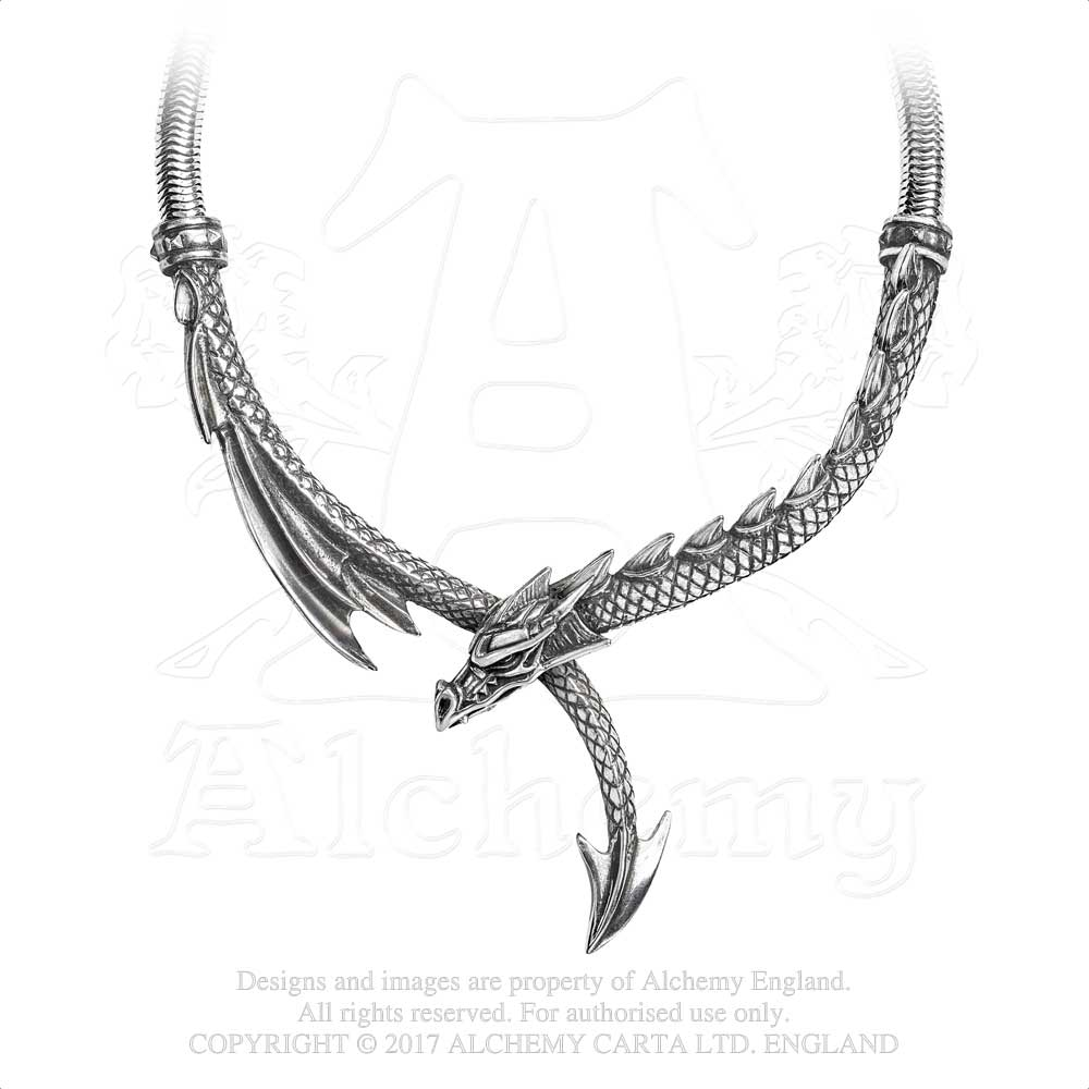 Alchemy Gothic Dragon's Lure Necklace from Gothic Spirit