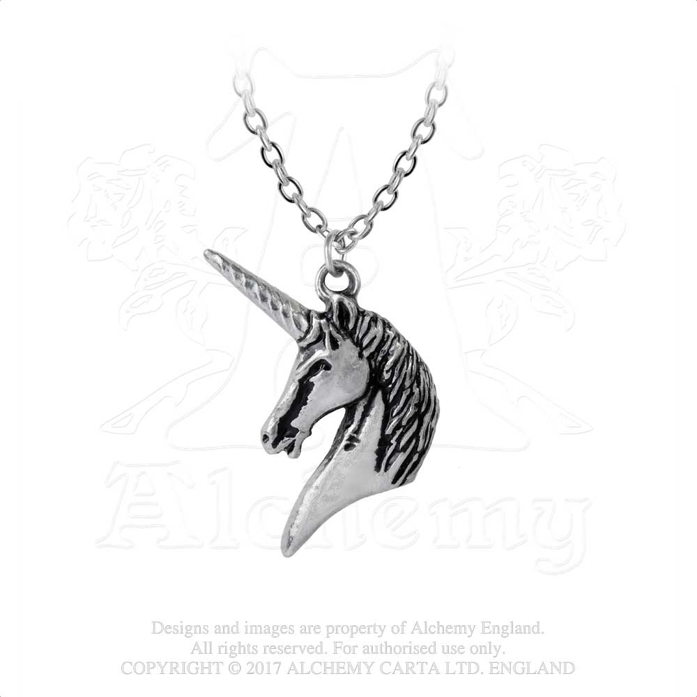Alchemy Gothic Unicorn Pendant from Gothic Spirit