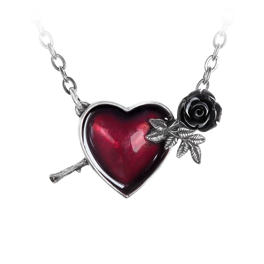 Alchemy Gothic Wounded By Love Pendant from Gothic Spirit
