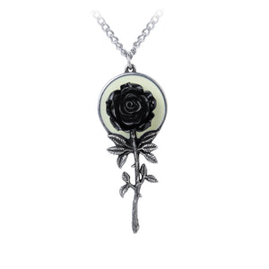 Alchemy Gothic Luna Rose Pendant from Gothic Spirit