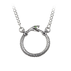 Alchemy Gothic Sophia Serpent Necklace