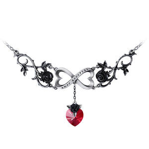 Alchemy Gothic Infinite Love Necklace from Gothic Spirit