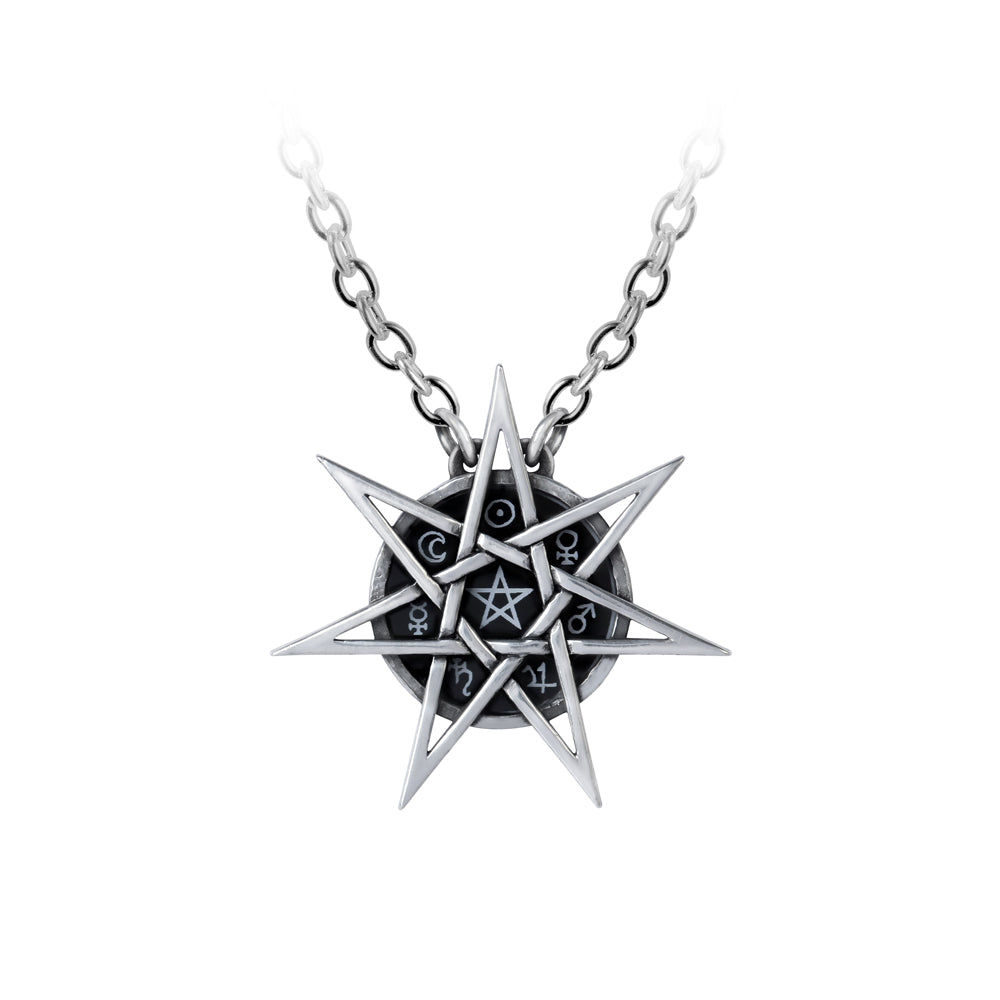 Alchemy Gothic Elven Star Pendant from Gothic Spirit
