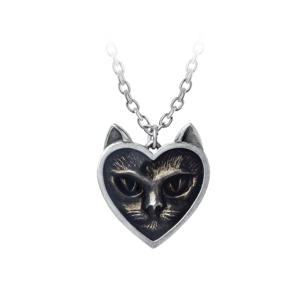 Alchemy Gothic Love Cat Pendant from Gothic Spirit
