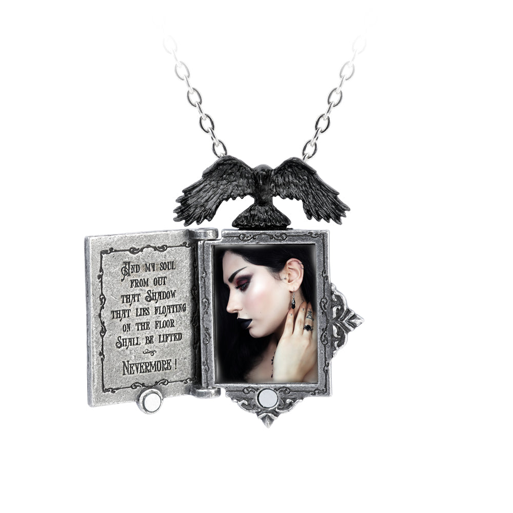 Alchemy Gothic Poe's Raven Locket Locket from Gothic Spirit