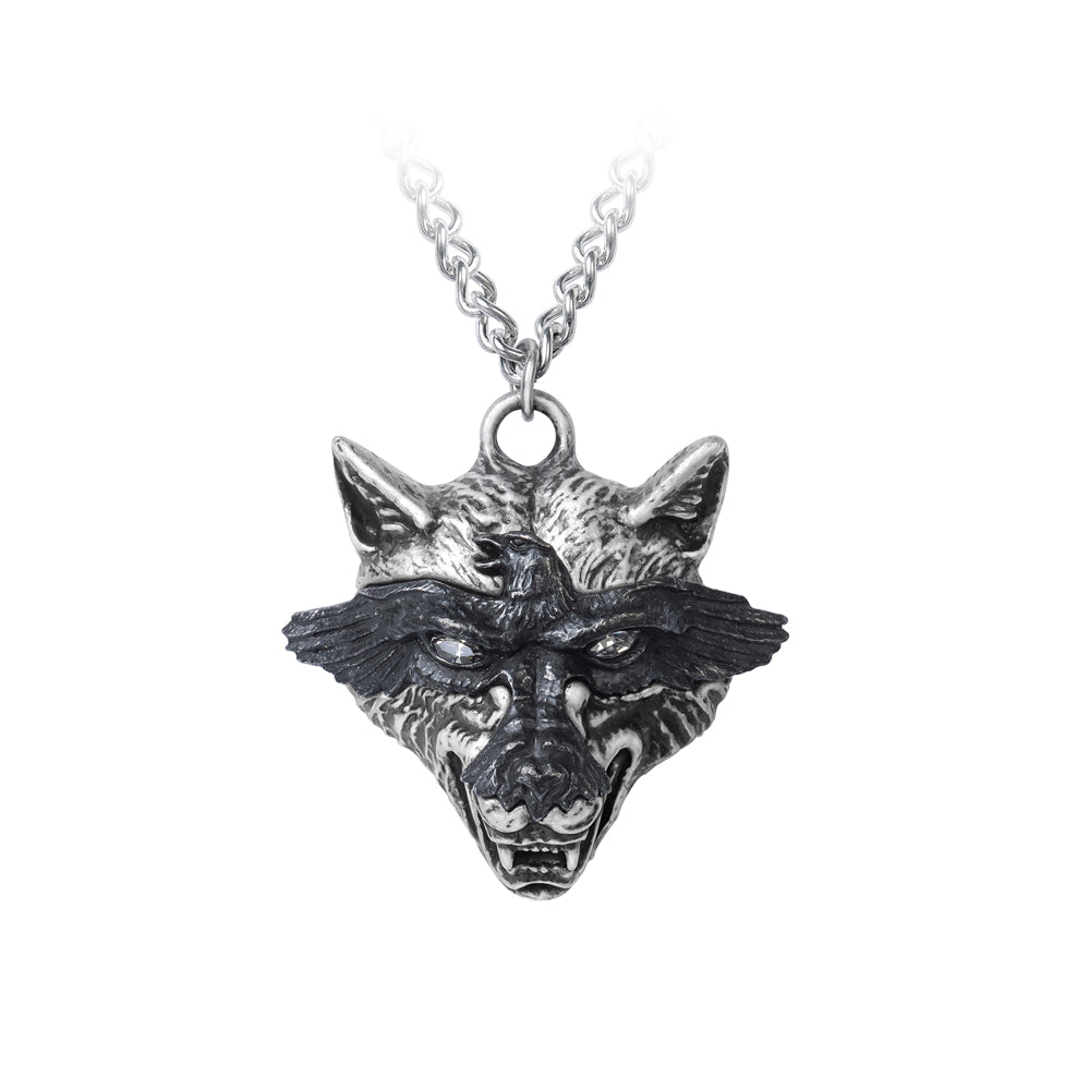 Alchemy Gothic Ravenwulf Pendant from Gothic Spirit