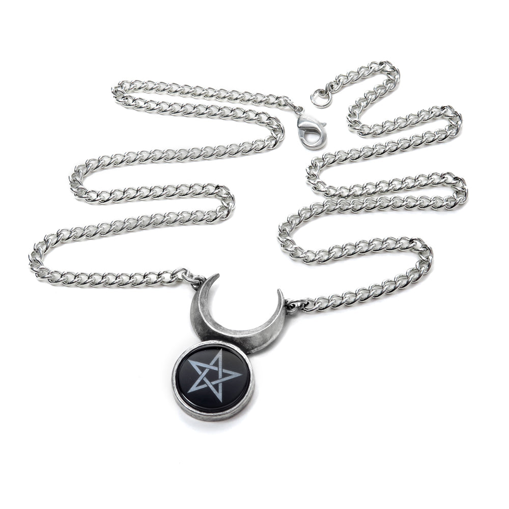 Alchemy Gothic Sin-Horned God Pendant from Gothic Spirit