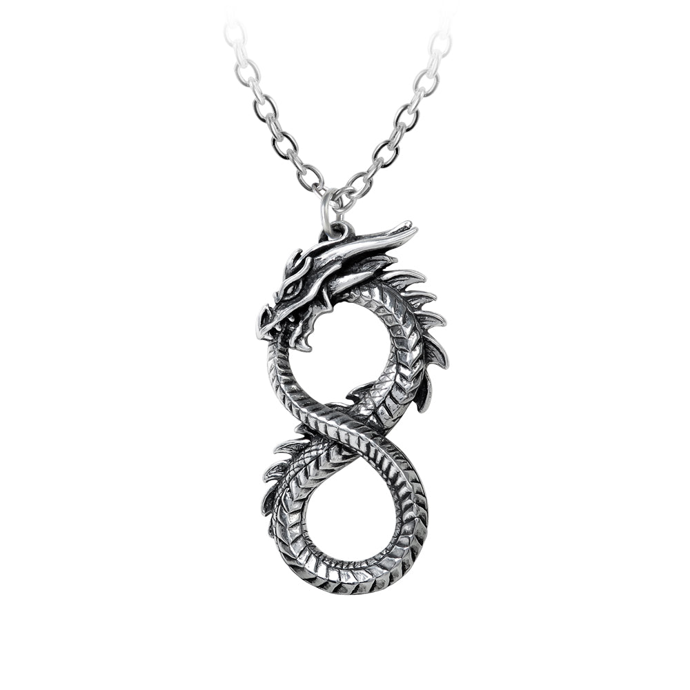 Alchemy Gothic Infinity Dragon  Pendant from Gothic Spirit