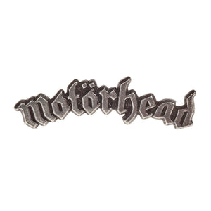 Alchemy Rocks Motorhead: logo Pin Badge - Gothic Spirit