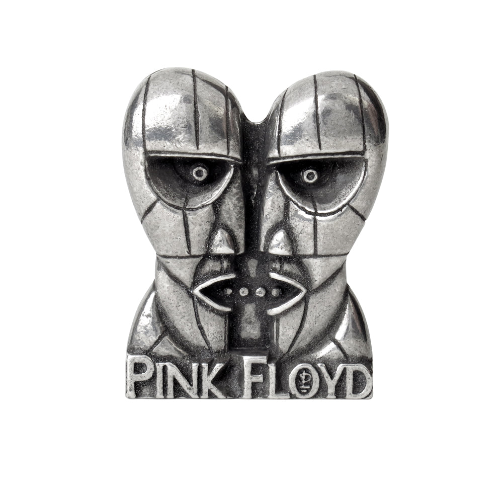 Alchemy Rocks Pink Floyd: Division Bell heads Pin Badge - Gothic Spirit