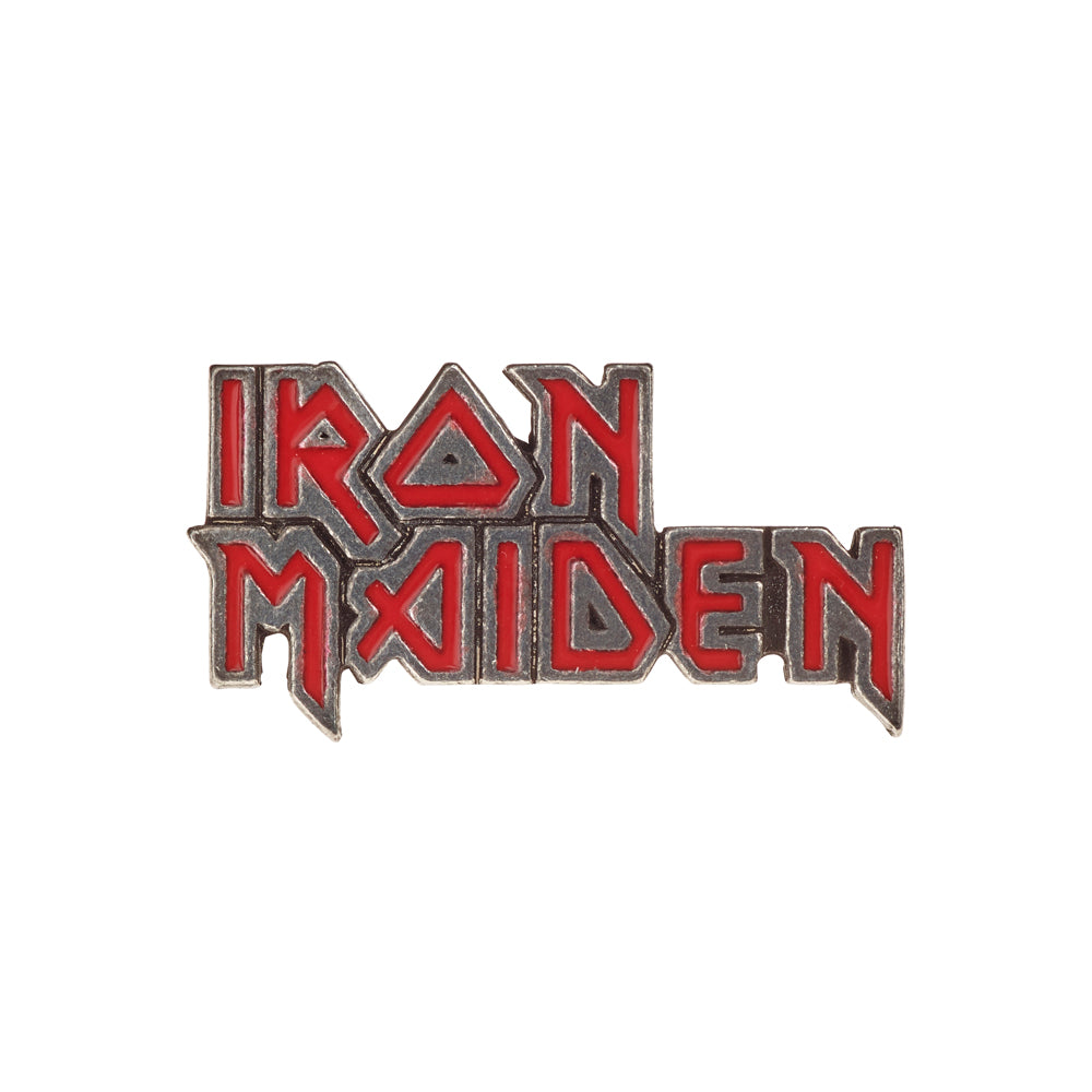 Alchemy Rocks Iron Maiden: enamelled logo Pin Badge from Gothic Spirit