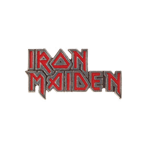 Alchemy Rocks Iron Maiden: enamelled logo Pin Badge - Gothic Spirit