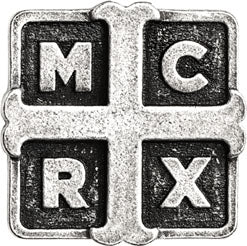 Alchemy Rocks My Chemical Romance Cross Pin Badge - Gothic Spirit