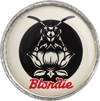 Alchemy Rocks Blondie Pollinator (colour decal) Pin Badge - Gothic Spirit