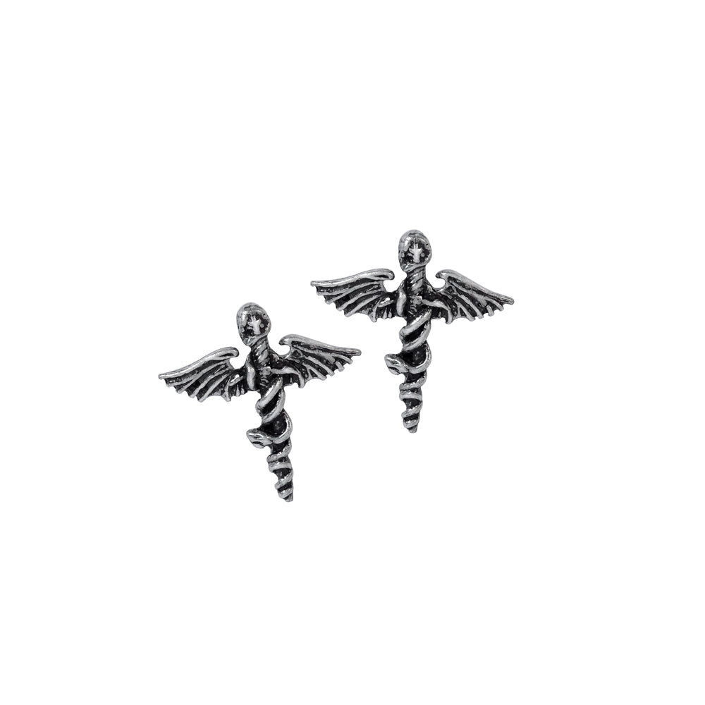Alchemy Rocks Motley Crue: Dr. Feelgood  Pair of Earrings