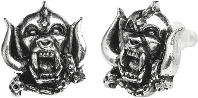 Alchemy Rocks Motorhead Warpig Pair of Earrings - Gothic Spirit
