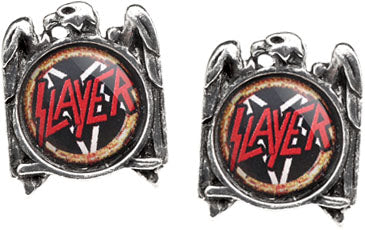 Alchemy Rocks Slayer Eagle Pair of Earrings - Gothic Spirit