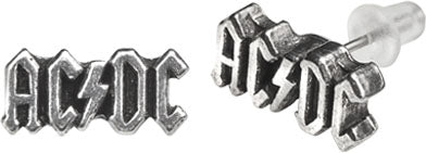 Alchemy Rocks AC/DC Logo Pair of Earrings - Gothic Spirit