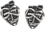 Alchemy Rocks Green Day Grenade Pair of Earrings from Gothic Spirit