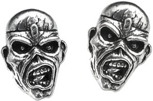 Alchemy Rocks Iron Maiden Piece Of Mind Eddie Pair of Earrings from Gothic Spirit
