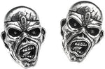 Alchemy Rocks Iron Maiden Piece Of Mind Eddie Pair of Earrings - Gothic Spirit