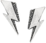 Alchemy Rocks Bowie 'Flash' Pair of Earrings from Gothic Spirit