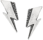 Alchemy Rocks Bowie 'Flash' Pair of Earrings - Gothic Spirit