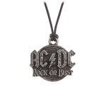 Alchemy Rocks AC/DC: Rock Or Bust Pendant from Gothic Spirit