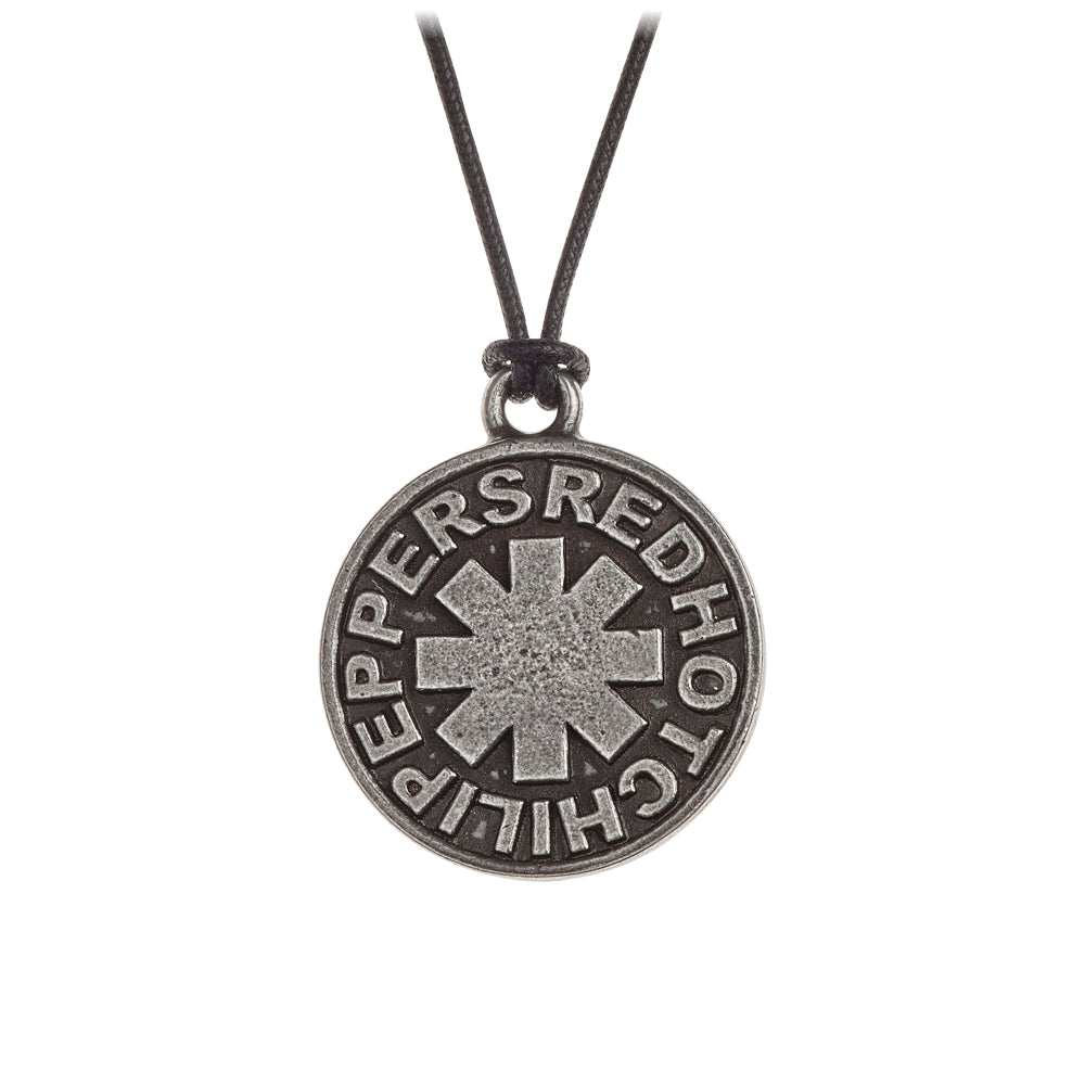 Alchemy Rocks Red Hot Chilli Peppers: Asterisk circle Pendant - Gothic Spirit
