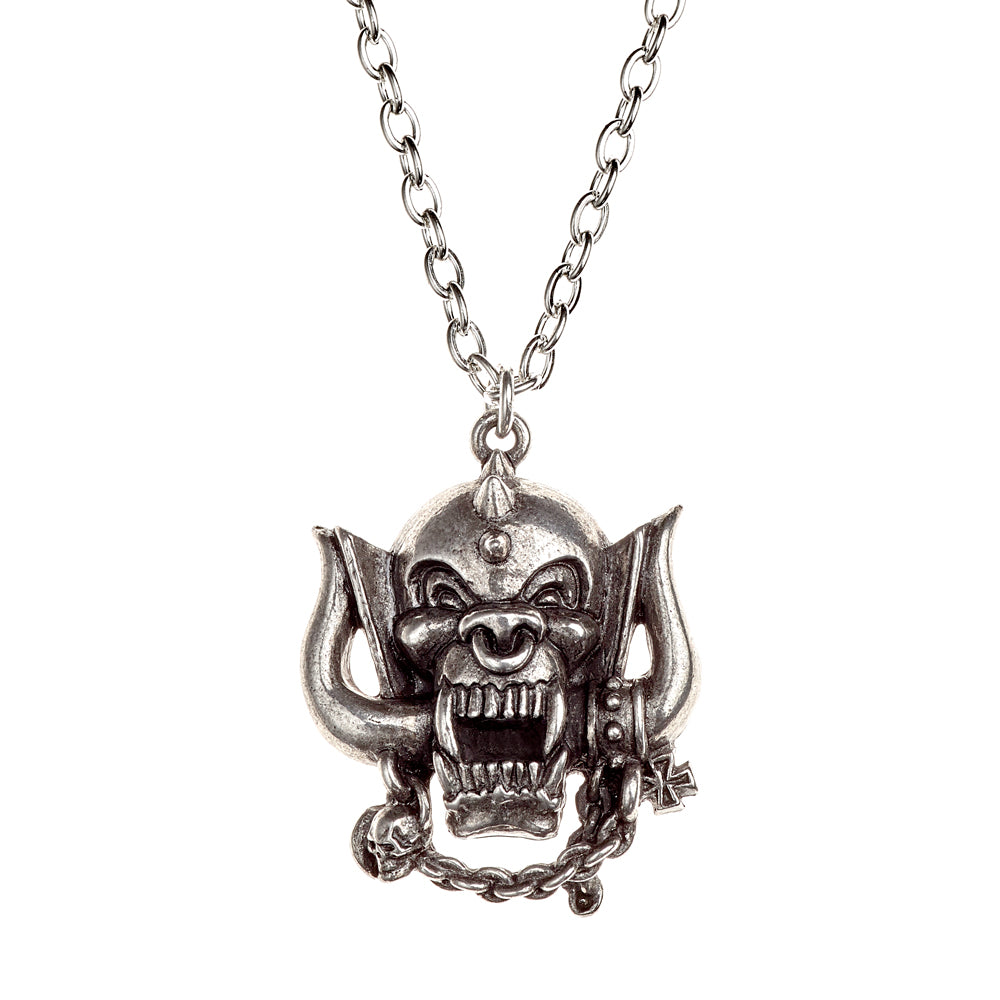 Alchemy Rocks Motorhead: War-Pig Pendant from Gothic Spirit